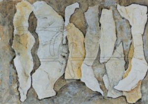 Gruppe - Acryl, Karton auf Malkarton - 120 x 90